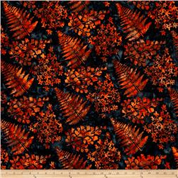 Bali Handpaints Batiks Mixed Leaves Singpore