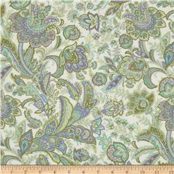Briarcliff Paisley Floral Cream