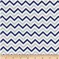 Ups & Downs Chevron Blue/Grey