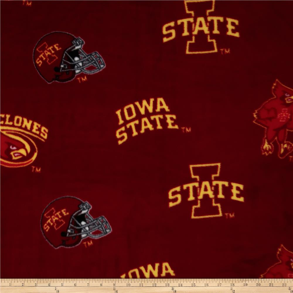 Collegiate Fleece Iowa State University Cardinal
