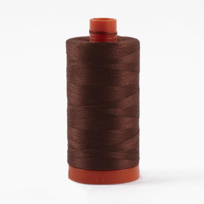Aurifil Quilting Thread 50wt Chocolate