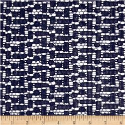 Crochet Lace Navy