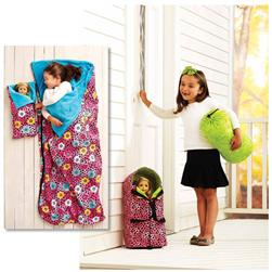 Kwik Sew Doll Carrier, Sleeping Bag, & Stuff