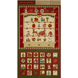 Season's Greetings 2013 Advent Calender Panel Multi