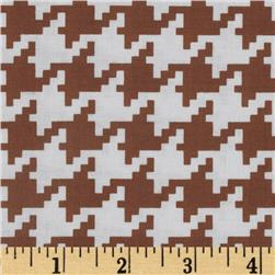 Michael Miller Everyday Houndstooth Cinnamon