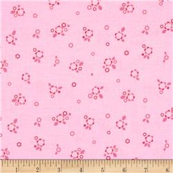 Riley Blake Sweet Home Petals Pink