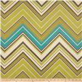 Claridge Surf Chevron Jacquard Jade