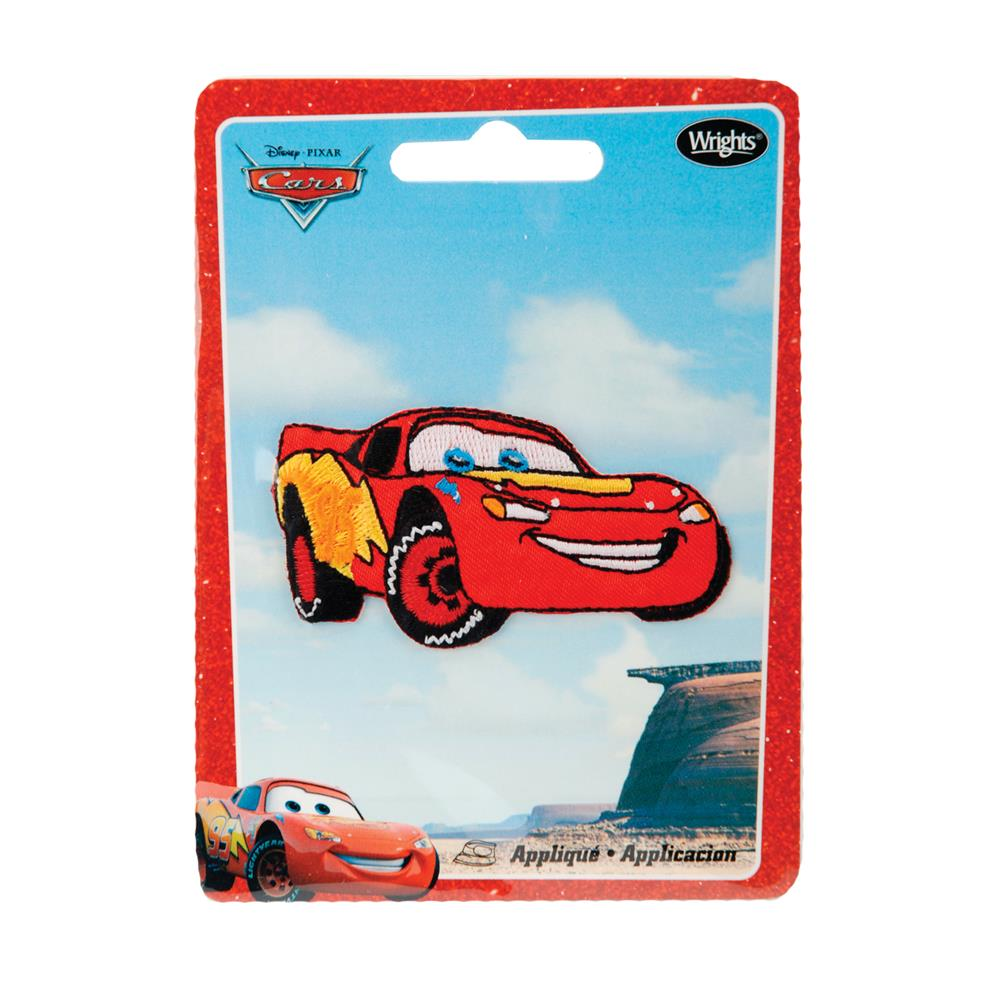 Disney Cars Iron On Applique McQueen