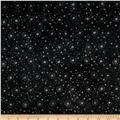 "108"" Wide Essentials Quilt Backing Dot Burst Black"
