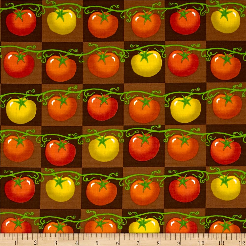 Lush Harvest Tomatoes Brown