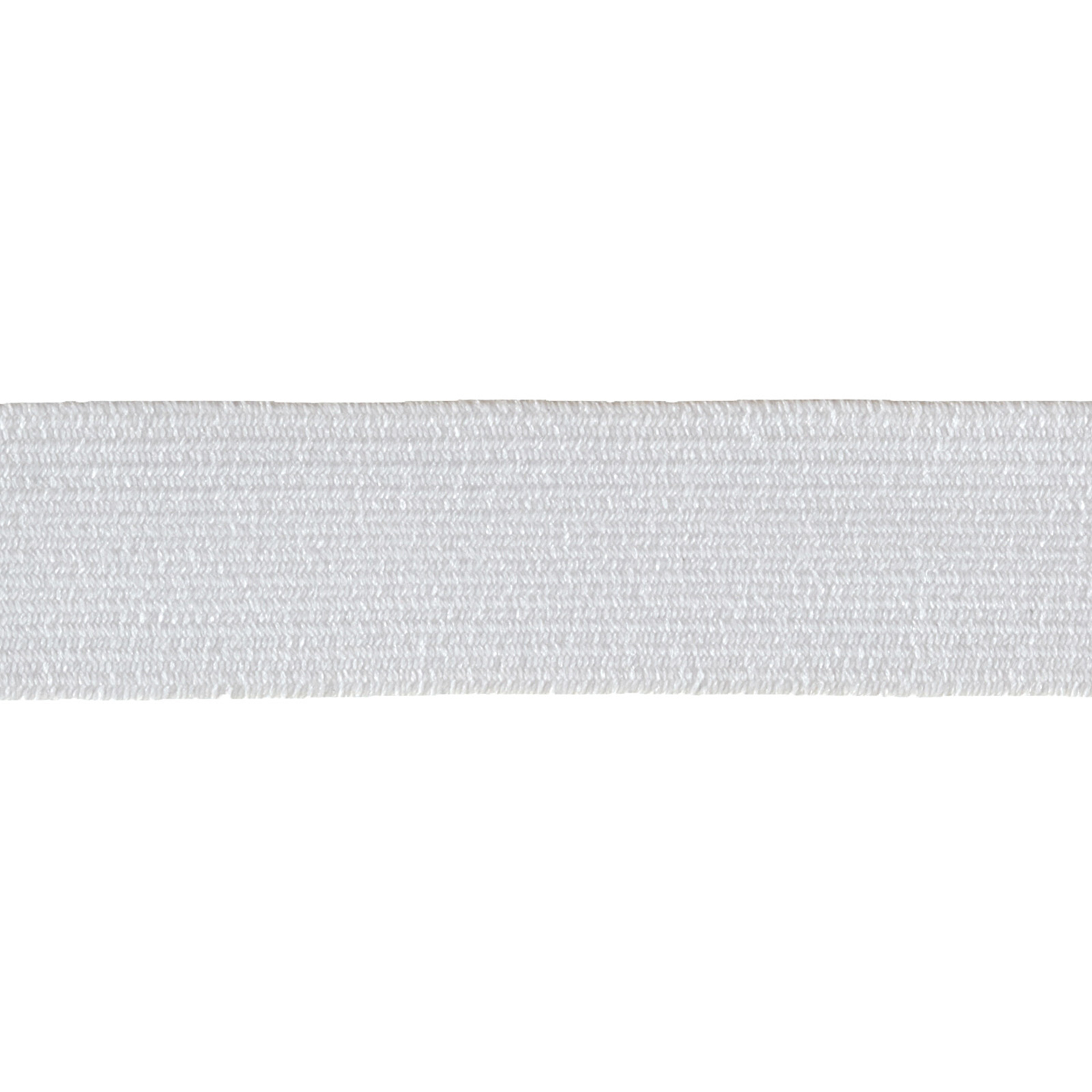 3/4'' Braided Elastic White by Notions Marketing in USA