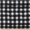 Mad For Melon Mod Gingham Black