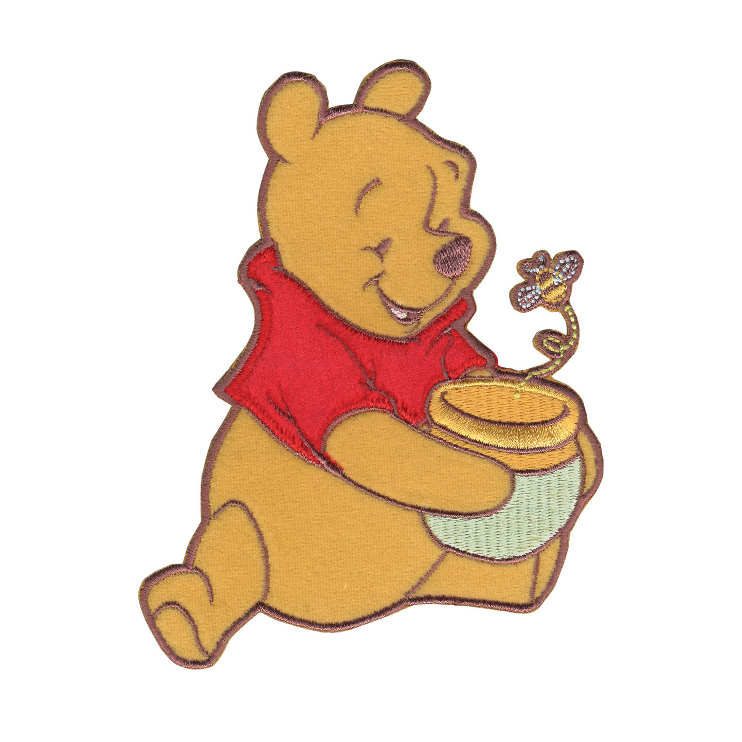 Disney Winnie The Pooh Iron On Applique Pooh Honey Pot & Bee by Notions Marketing in USA