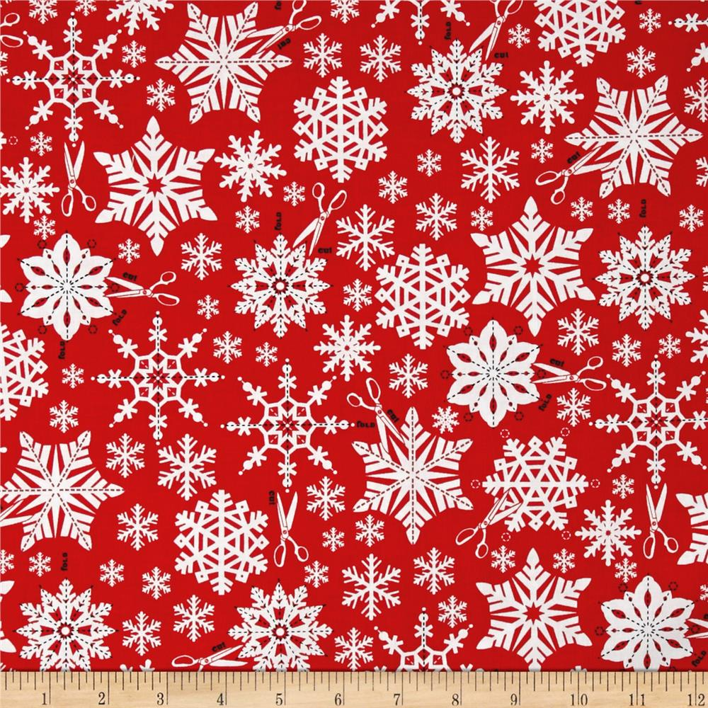Kaufman Swell Noel Snowflakes Holiday