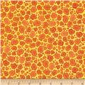 Wild Things Giraffe Print Yellow