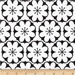 Riley Blake Mod Studio Damask White Fabric