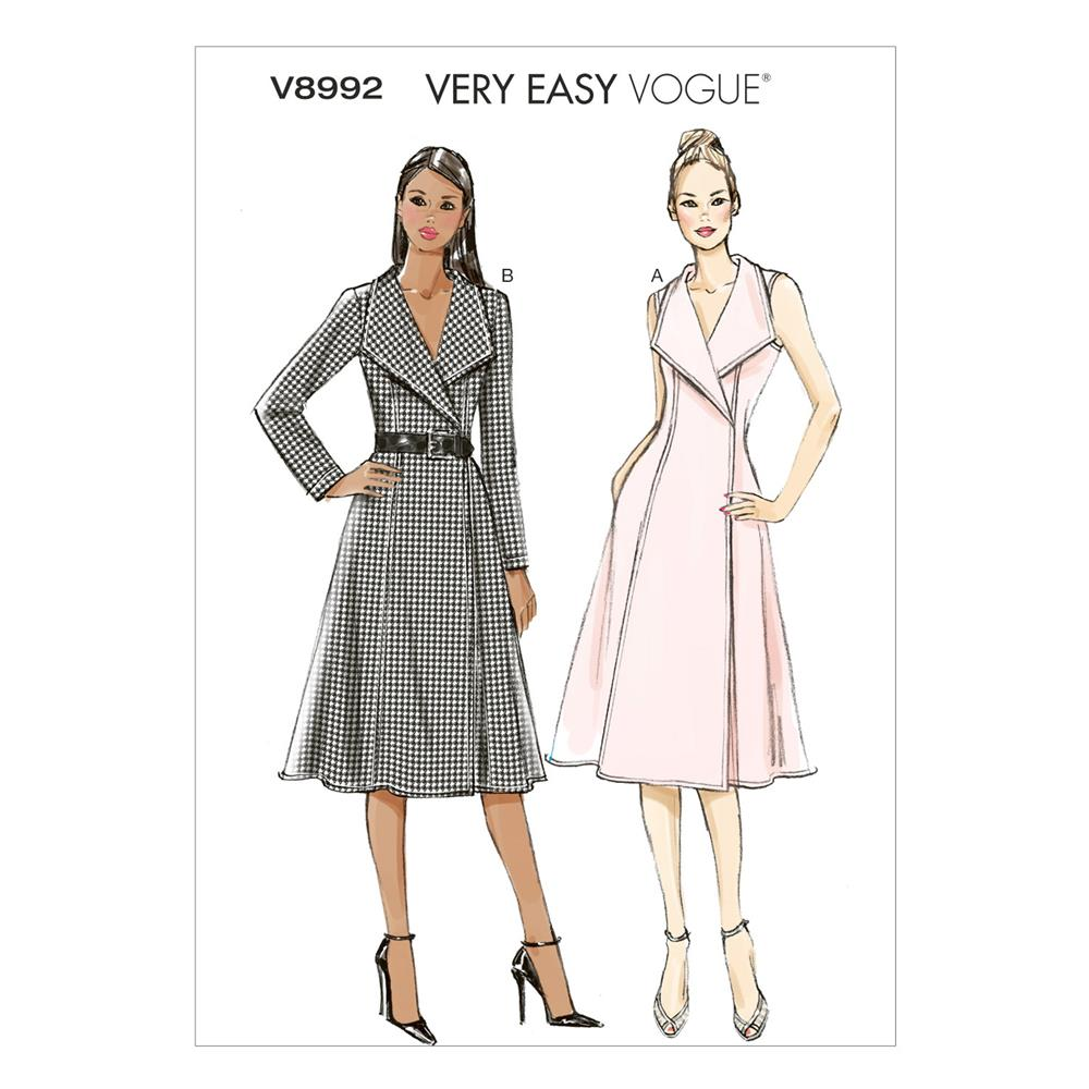 Vogue Misses' Dress Pattern V8992 Size B50