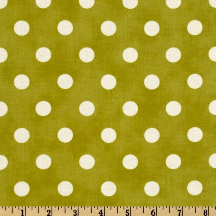 Moda Dottie (#45008-34) Green/White