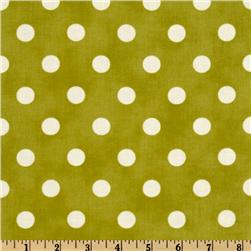 Moda Dottie (#45008-34) Green/White Fabric