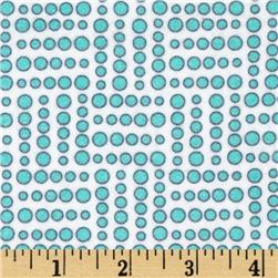 Valori Wells Bridgette Lane Flannel Dots Blueberry Fabric