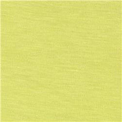 Stretch Rayon Jersey Knit Daffodil Fabric