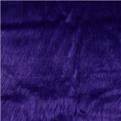 Faux Fur Monkey Purple