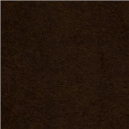 45'' Plush Felt Chocolate Fabric