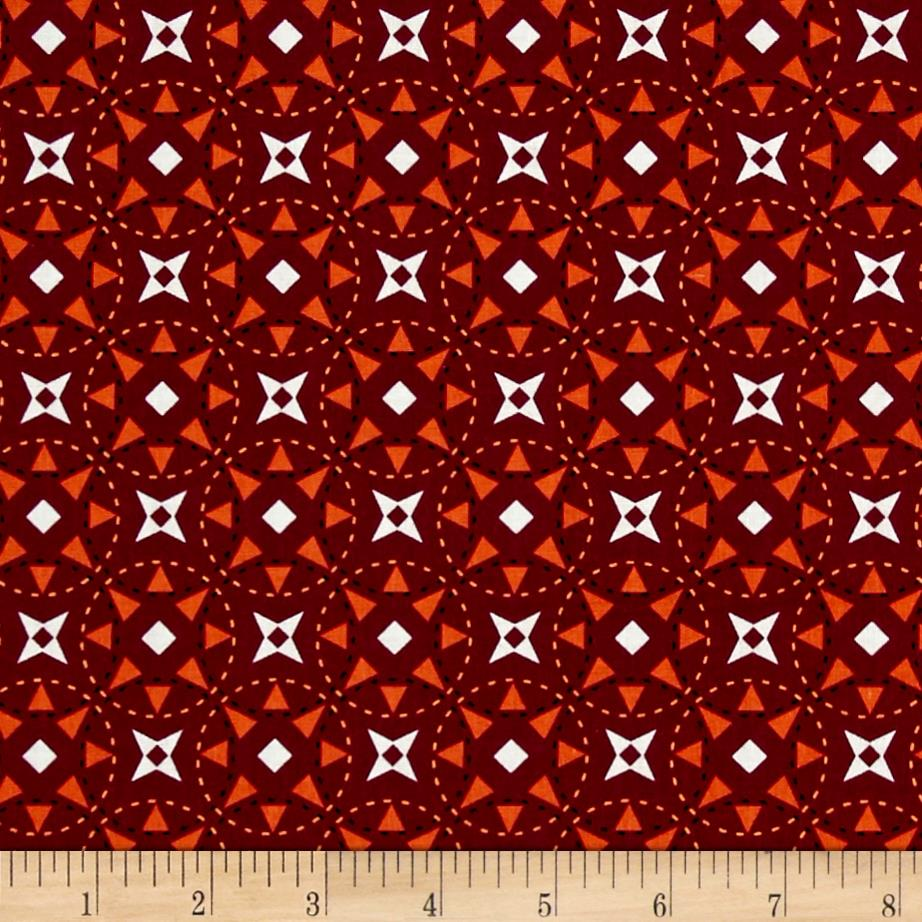 Riley blake juxta posey star fuchsia discount designer for Star design fabric