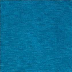 Rayon Spandex Jersey Knit Bright Turquoise