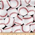 In the Game Baseballs White