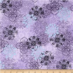 Adventures Graphic Floral Purple