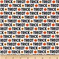 Riley Blake Ghouls & Goodies Trick or Treat White