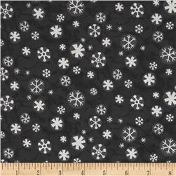 Evergreen Circle Stars Black