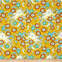 Heather Bailey Hello Love Octopus Garden Gold