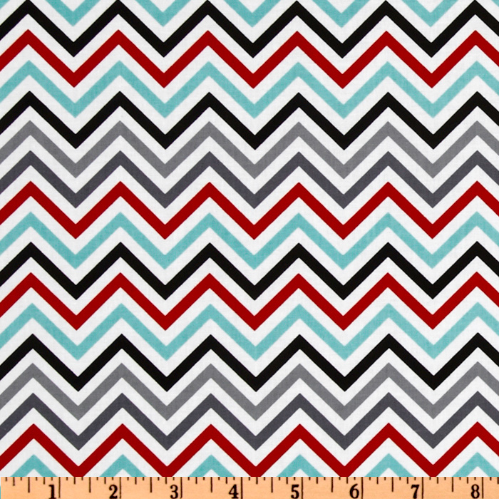 Remix Zig Zags Celebration Fabric