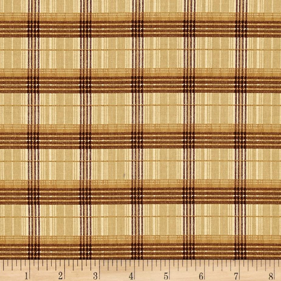 Mountain Woods Plaid Beige