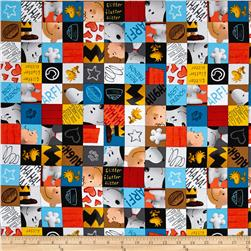 Peanuts Good Friends Character Checkerboard Multi
