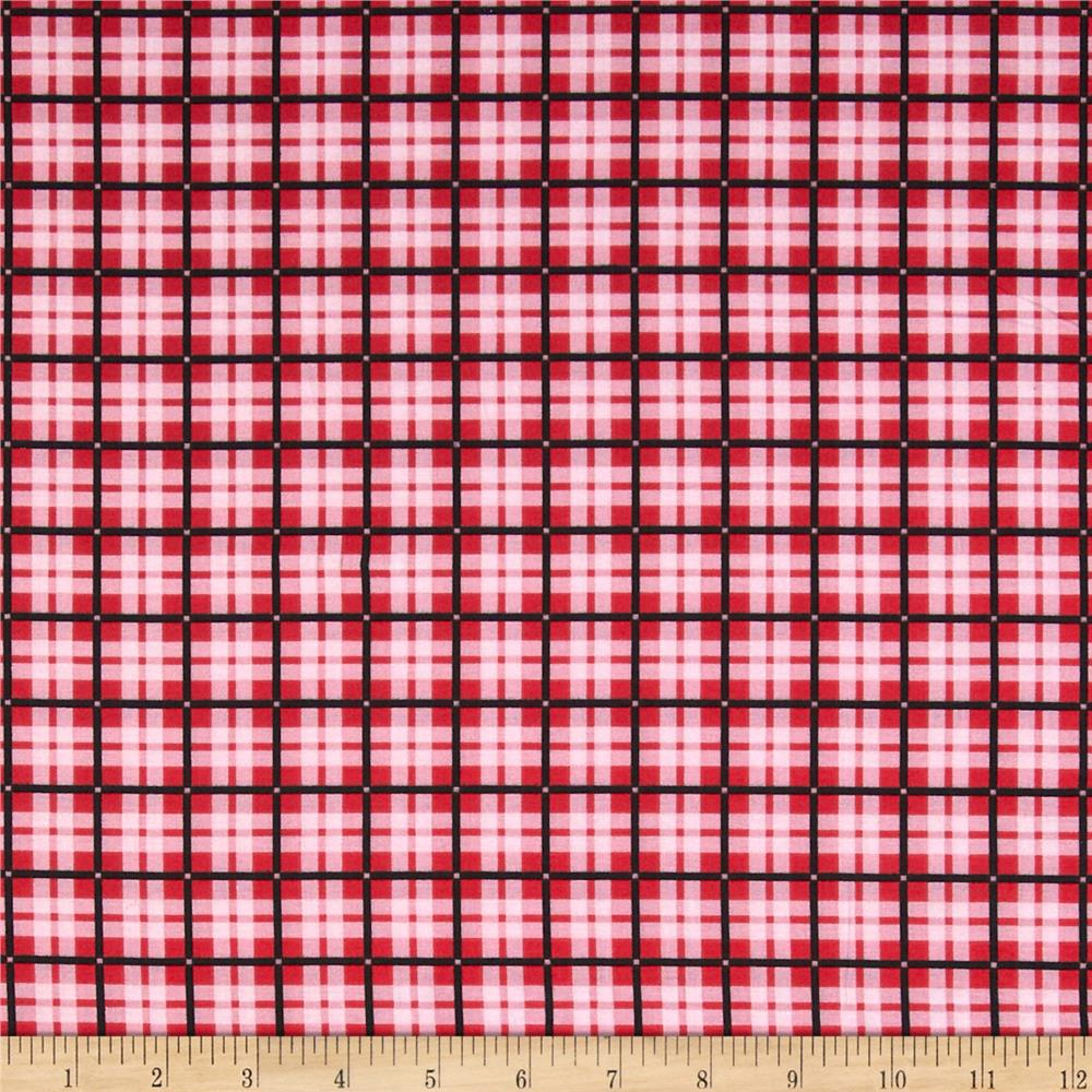 Spotlight Plaid Red