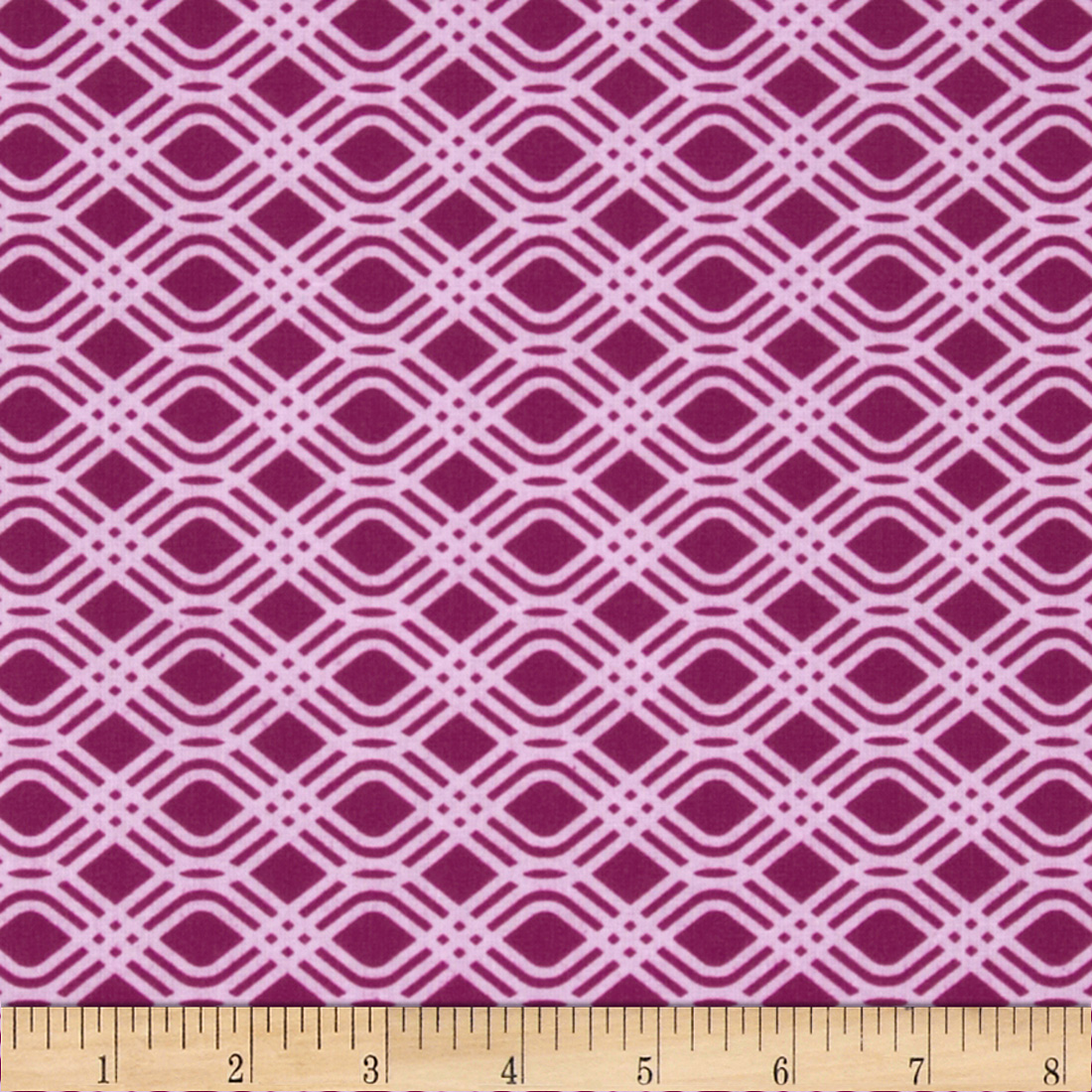 SunPrint Party Streamer Purple Fabric