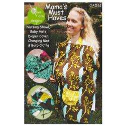 Olive Ann Designs Mama's Must Haves Pattern