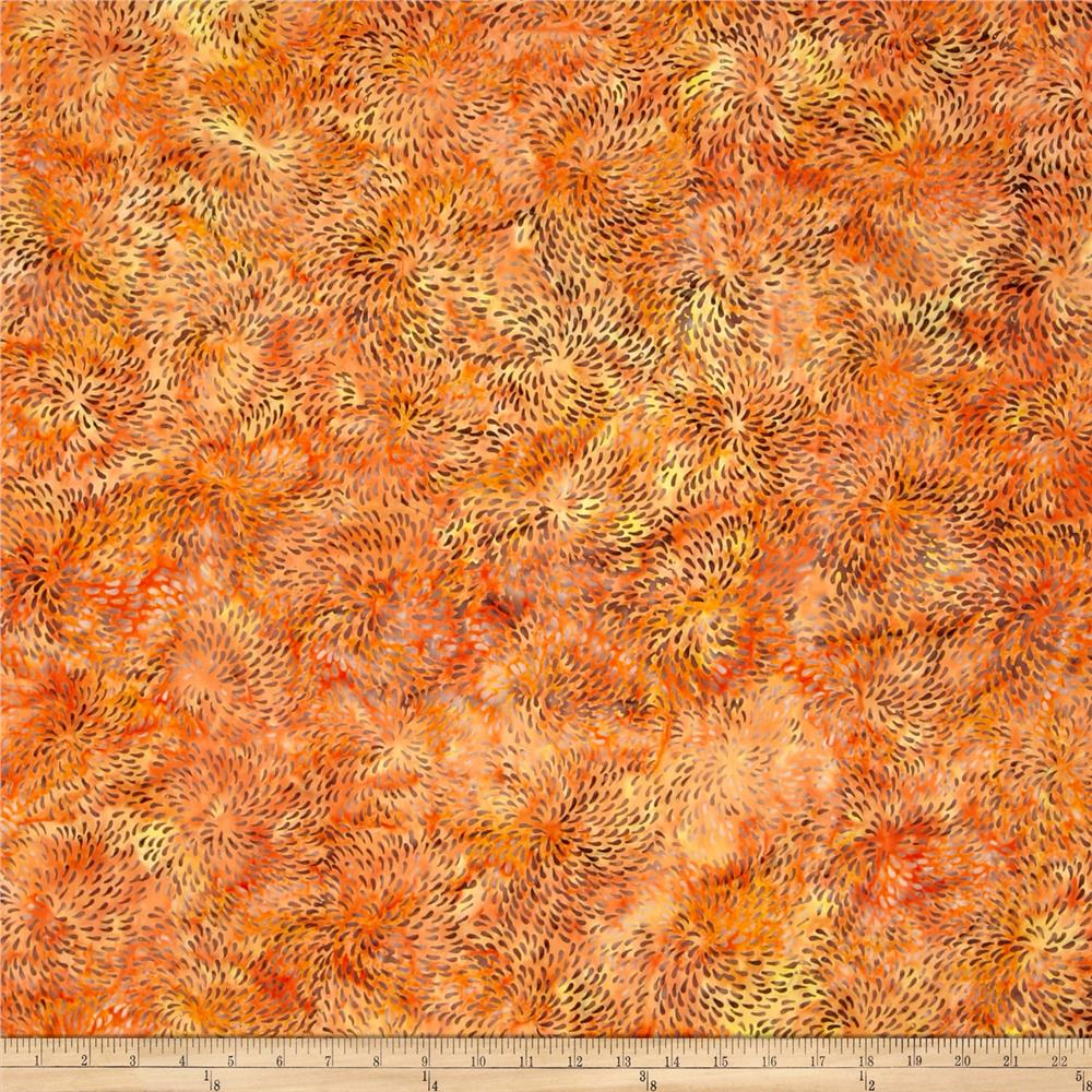 Batik Central Java Daliah  Orange /Yellow