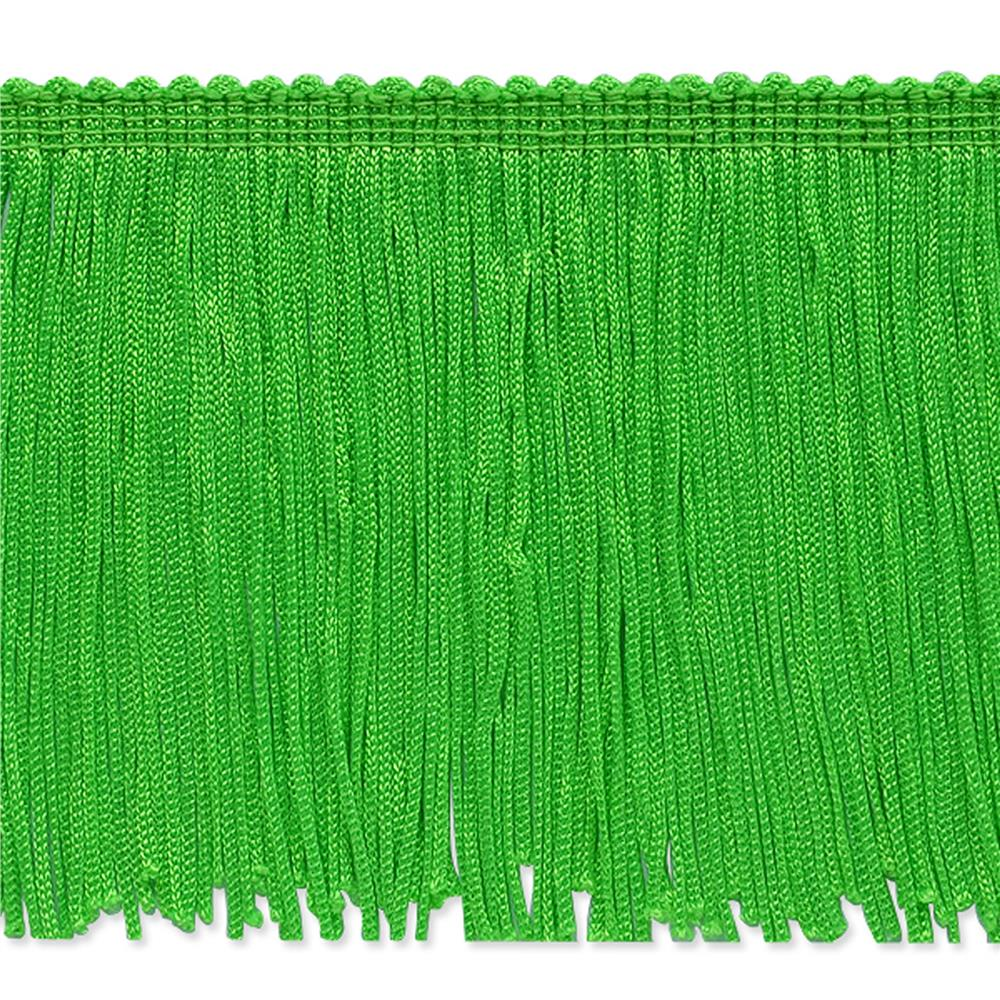 "4"" Stretch Chainette Fringe Trim Lime"