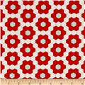 Moda Handmade Grandmother's Garden Red