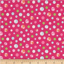 Girly-o-Saurus Dots Pink