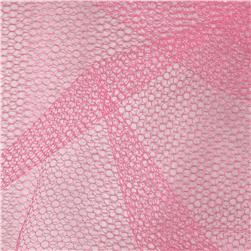 Nylon Netting Paris Pink Fabric
