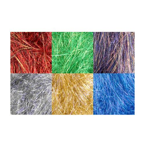 Angelina Straight Cut Fibers Christmas 6 Piece Assortment