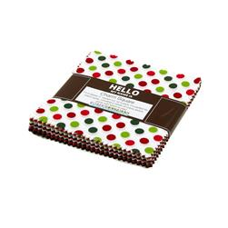 Spot On Holiday Glitz Charm Squares