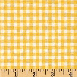 Moda Howdy Gingham Buttercup
