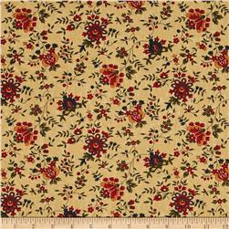Moda Gooseberry Lane Berries & Blooms Tan