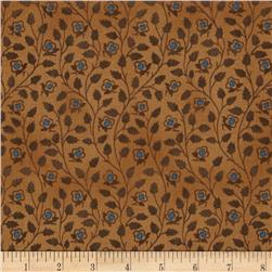 Mary Koval Tree of Life Vine Leaf Tan